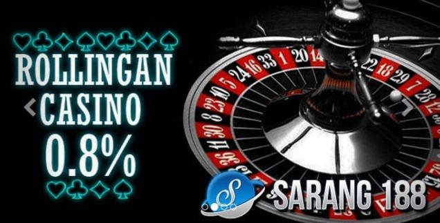 Sarang188 Judi Casino Online Terpercaya